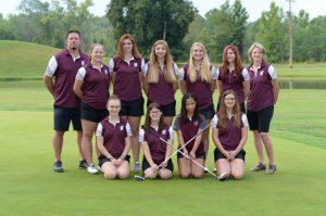 2017 Girls Golf Team Picture