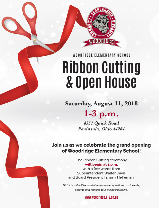 Woodridge Elementary School Grand Opening- August 11
