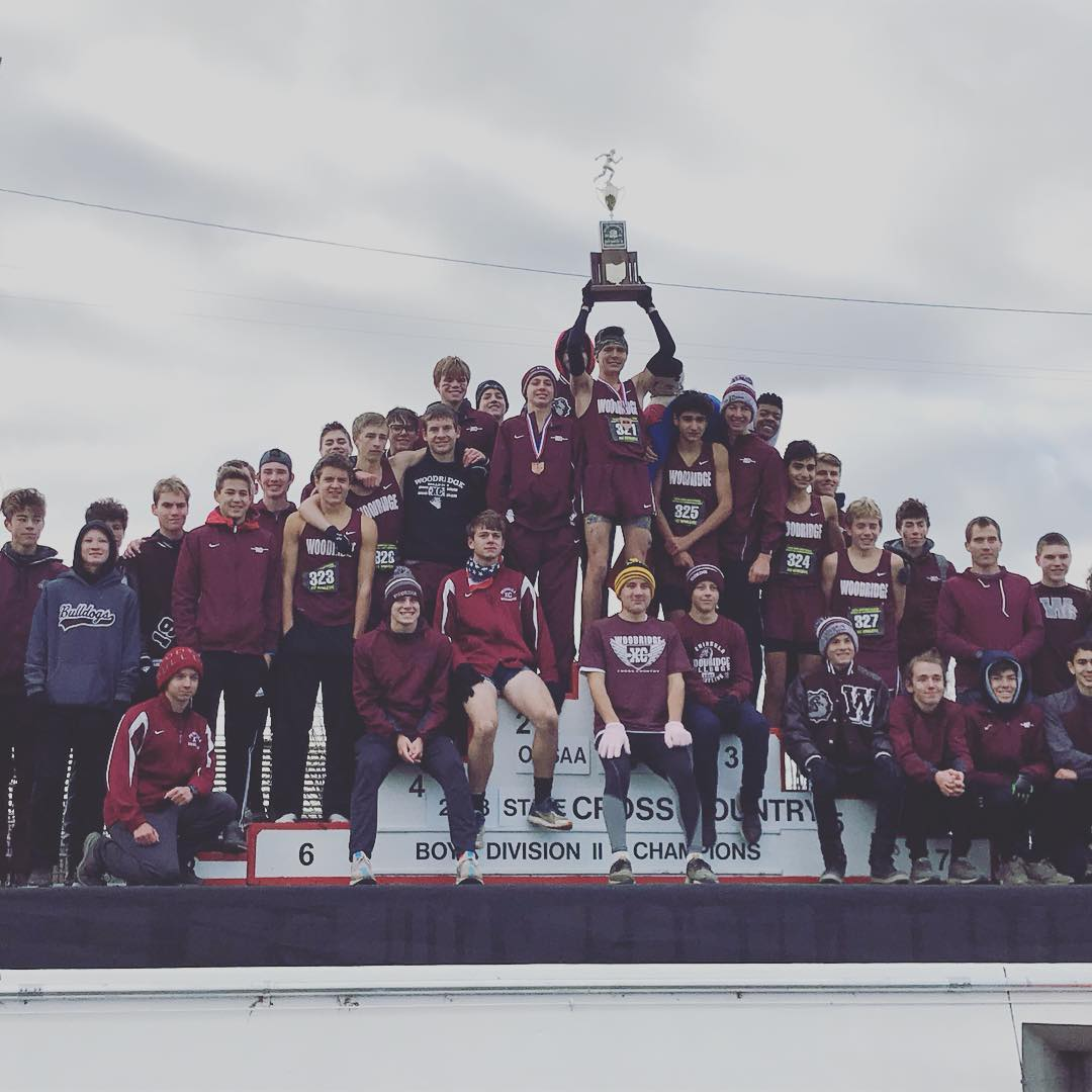 Woodridge Boys Cross Country Wins 8th State Championship