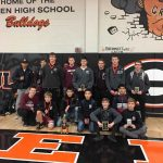 Varsity Wrestling finishes 3rd place at (Green Bulldog Brawl)