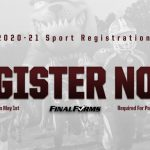 2020-21 Sport Registration NOW OPEN