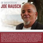 Joe Rausch Memorial Plaque Dedication- September 24