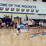 Volleyball earns a HUGE 3 set victory over Manchester HS