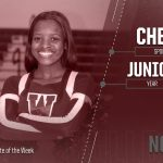 Student Athlete of the Week- Shakira Nowden