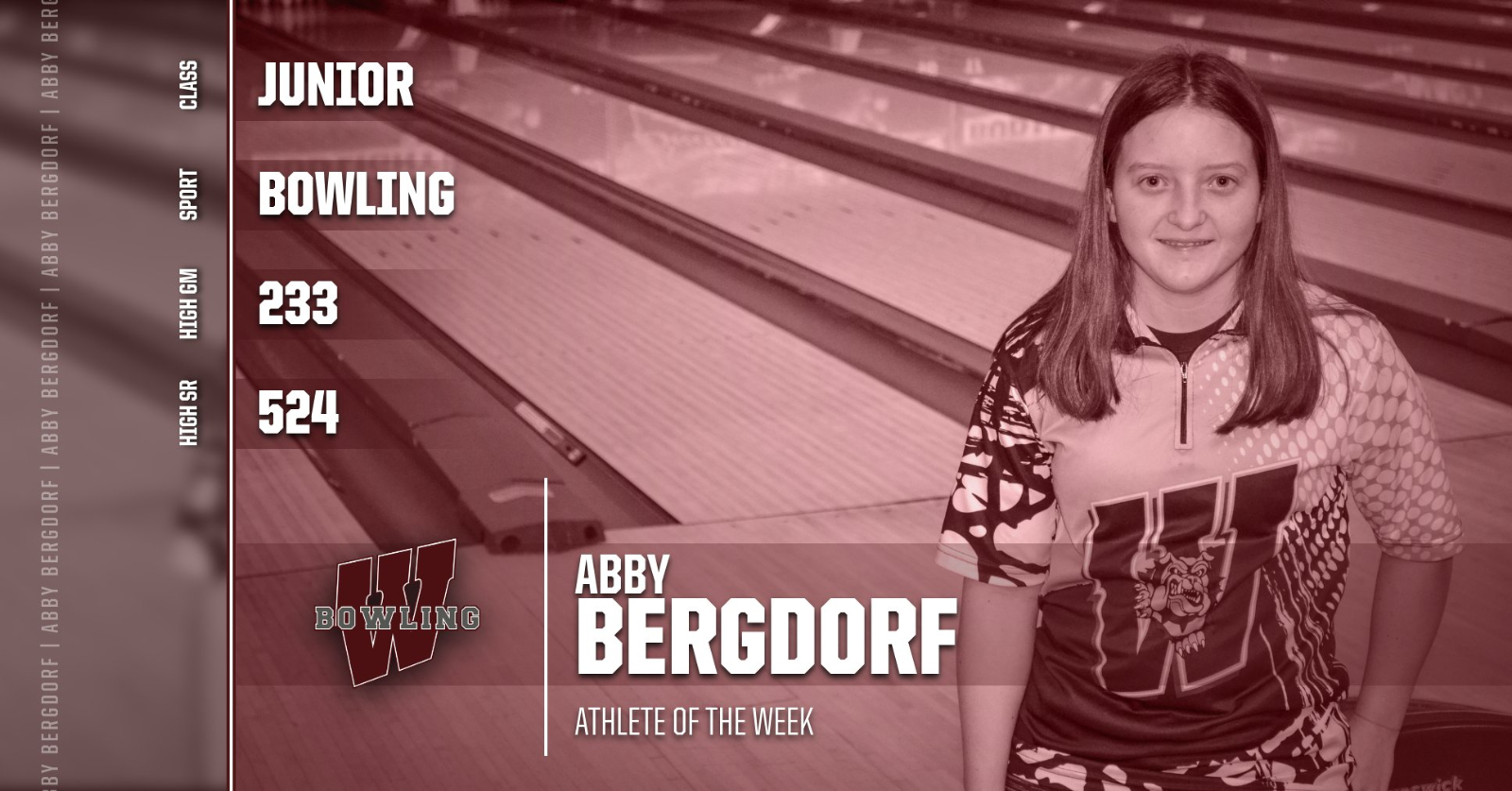 Student Athlete of the Week- Abby Bergdorf