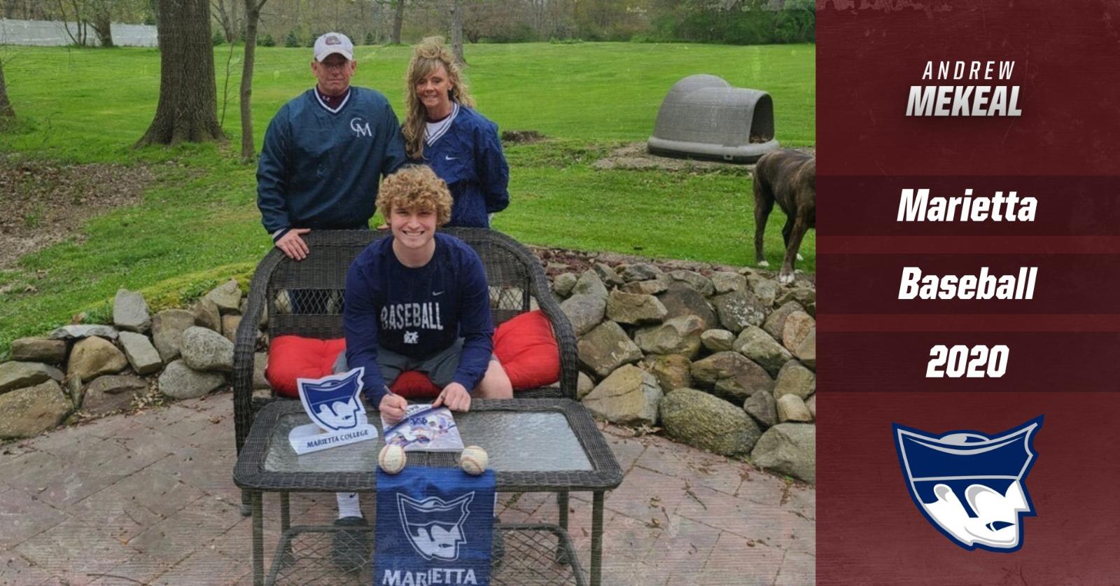 Andrew Mekeal Commits to Marietta College