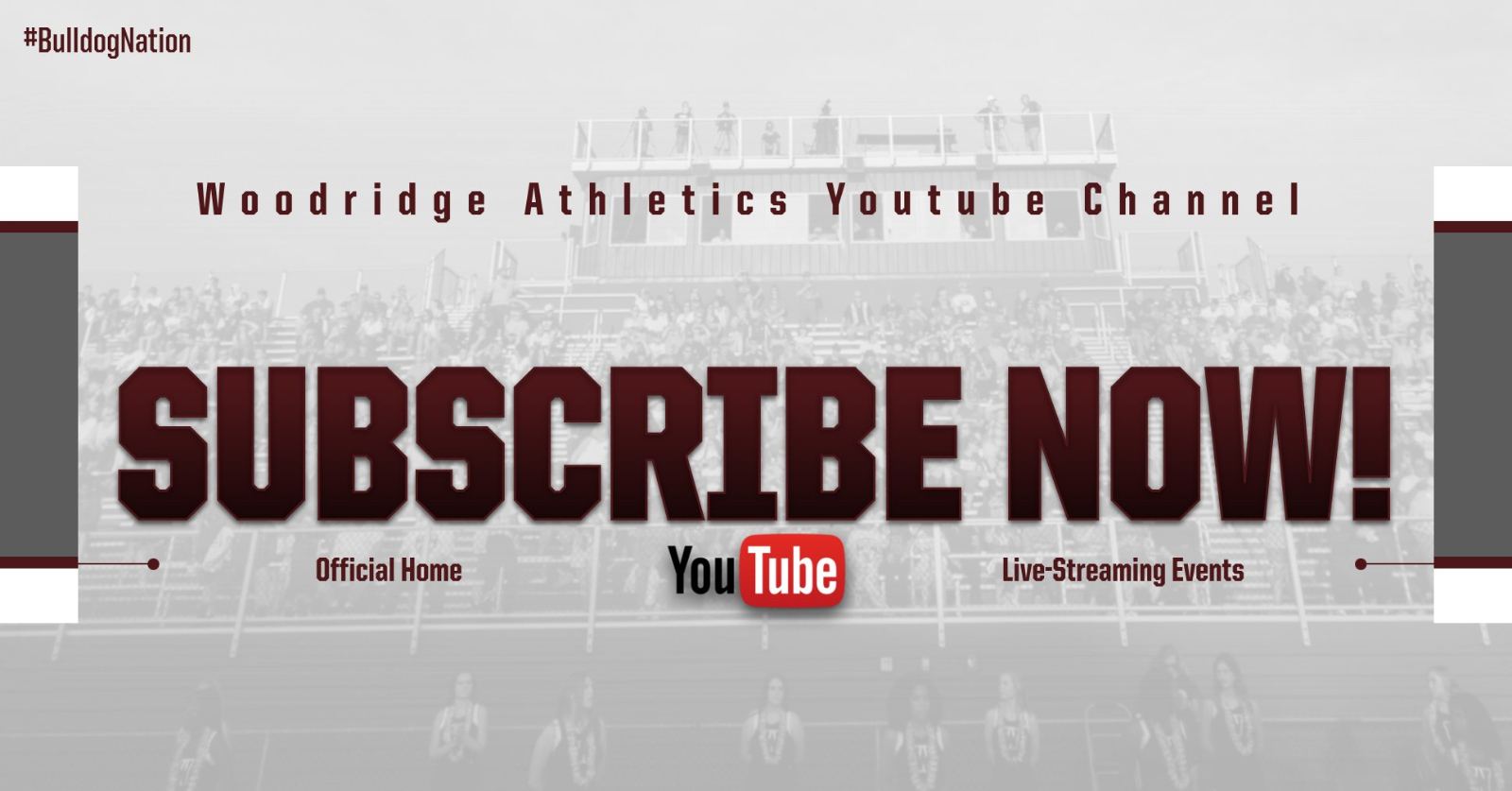Subscribe Now! Woodridge Athletics Youtube Channel