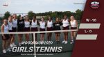 Girls Varsity Tennis ends MAC regular season with a perfect 10-0 winning record