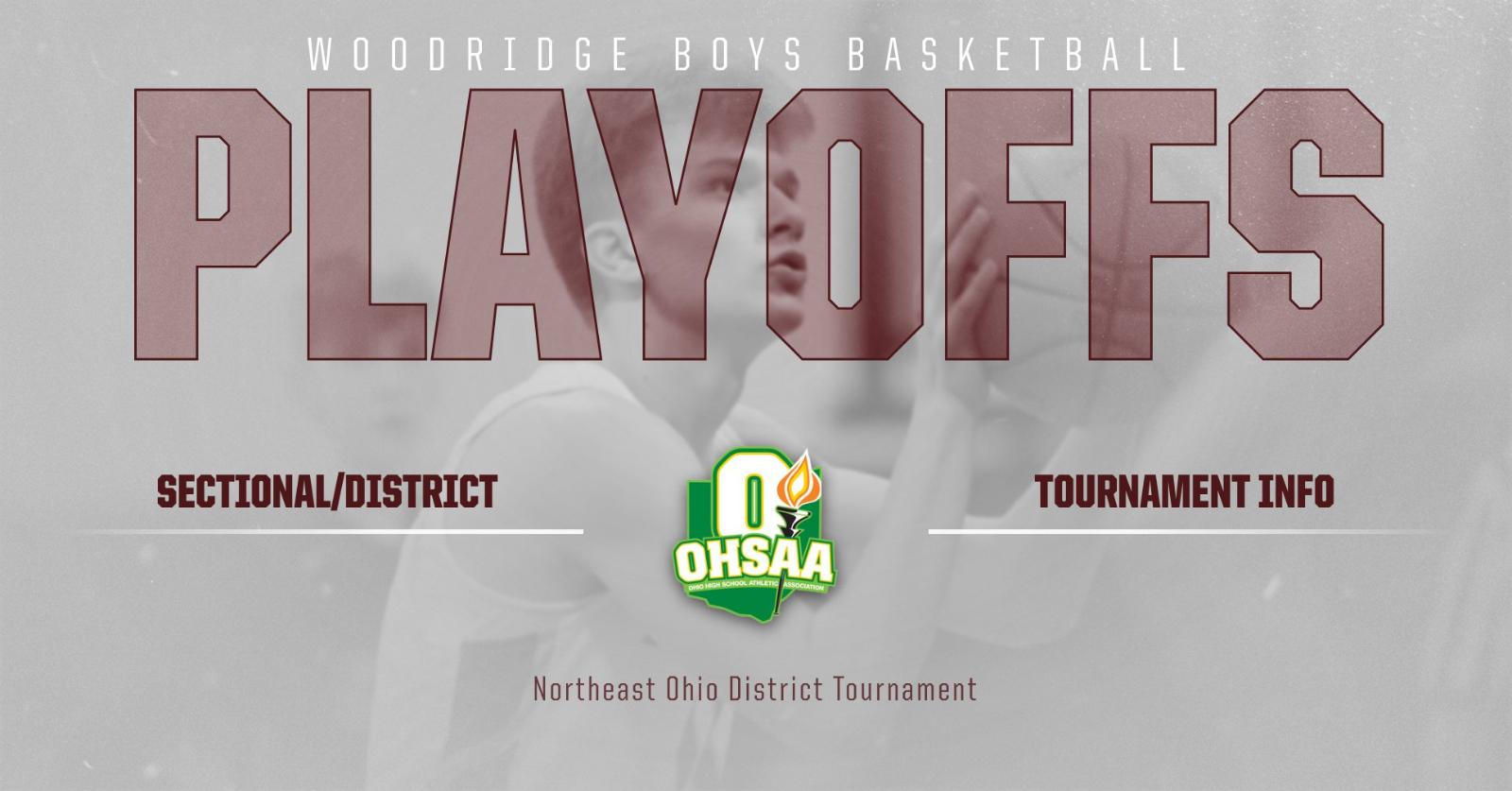Boys Basketball OHSAA Tournament Info