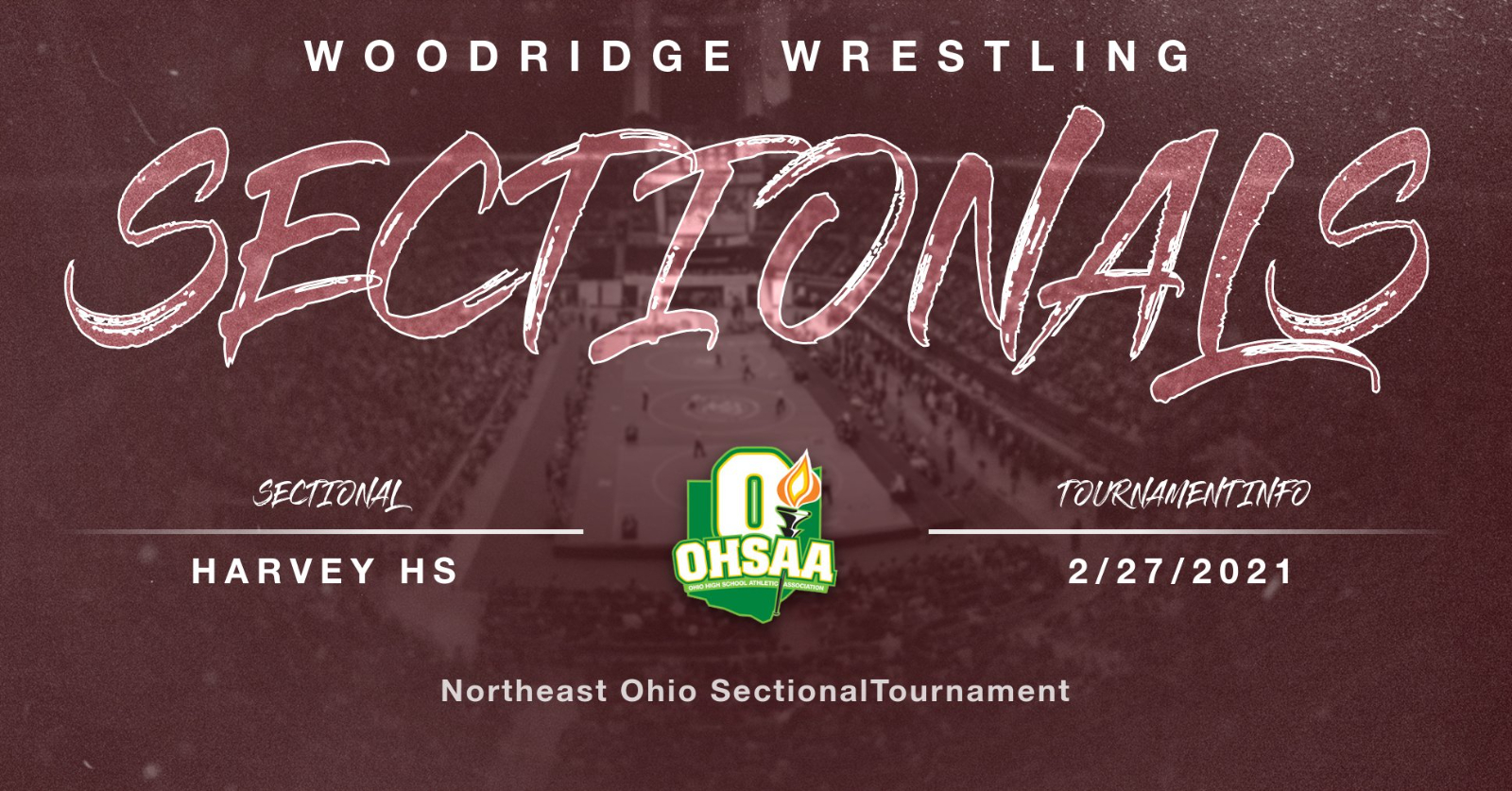 2021 OHSAA Sectional Wrestling Tournament Info