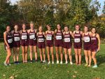 Girls Varsity Cross Country finishes 2nd place at Medina XC Festival