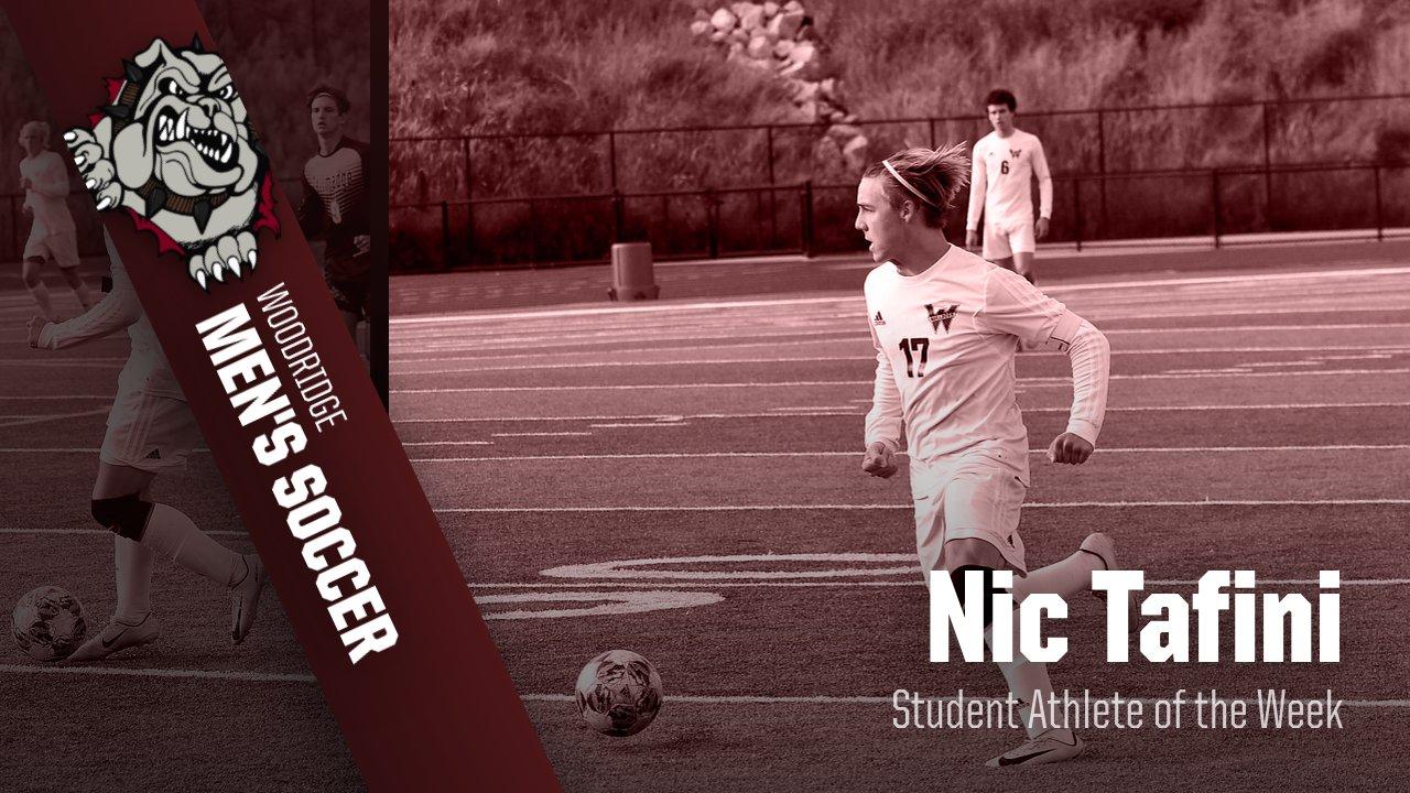 Student Athlete of the Week- Nic Tafini