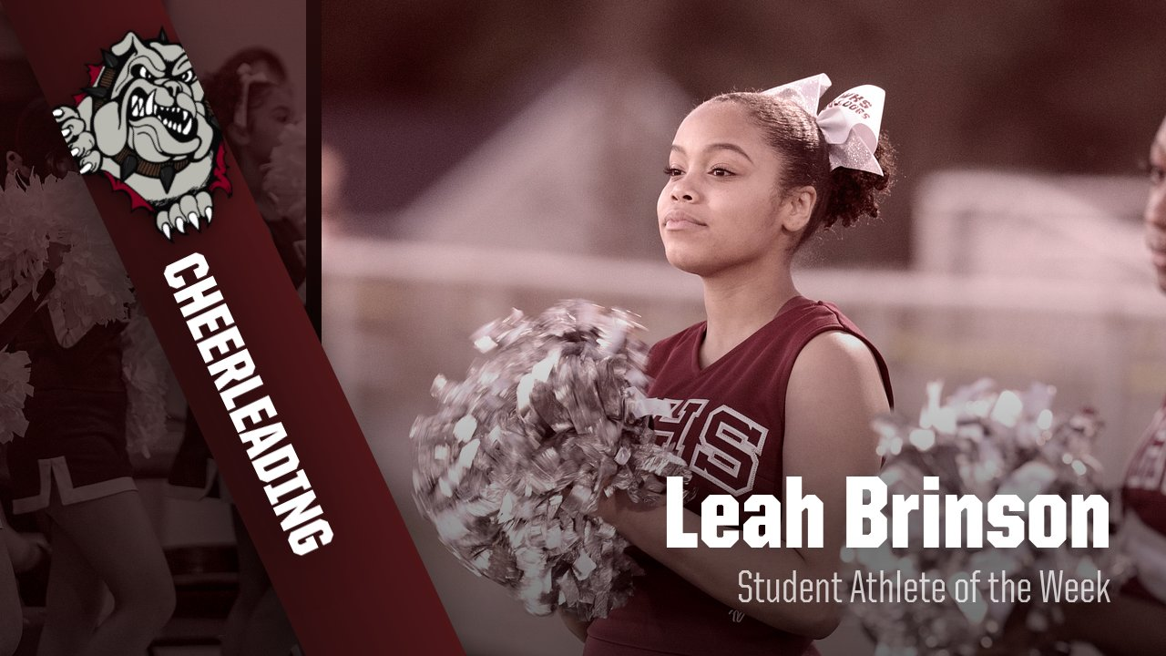 Leah Brinson- Student Athlete of the Week