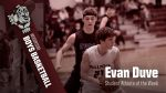 Evan Duve- Student Athlete of the Week