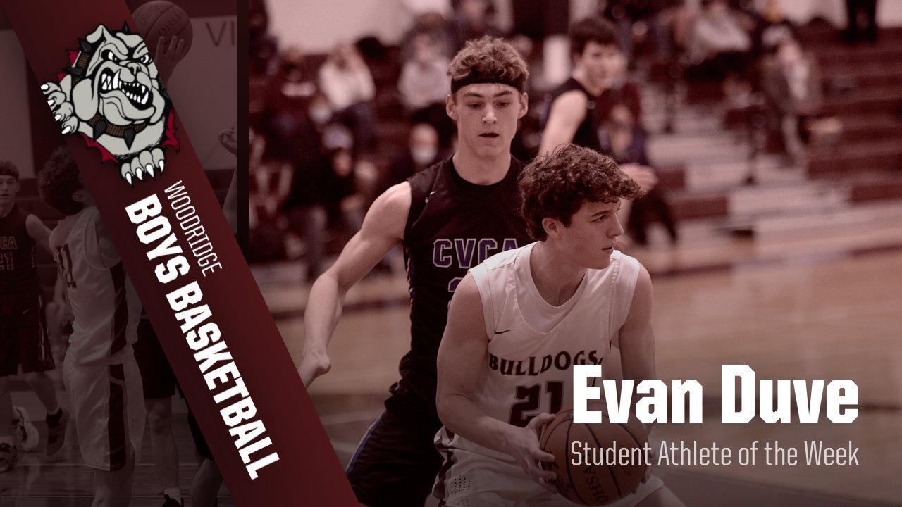 Evan Duve- Student Athlete of the Week