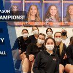 Hawks Volleyball SCAC Regular Season Champs!