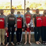 Red Devil Swimmers had a Busy Two Days in the Water