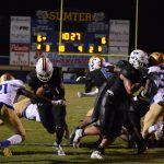 Sumter takes down Berkeley 34-13 to advance in 5A playoffs