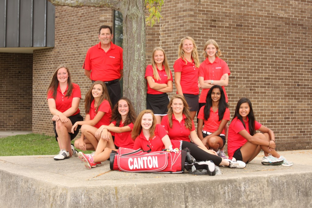 Canton Girls Golf Tryouts 2018