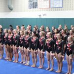 Canton Gymnastics Defeats Brighton 11-0