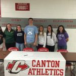 Congratulations to Canton's 2015 Athletic Signee's