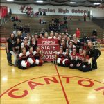State Champs!!  Canton Pompon