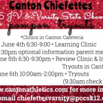 Canton Chiefettes Pompon Tryouts