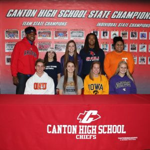 Canton High School Signing Day 2016 – ExpressPhoto