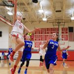 Canton topples Rocks 43-37 in district opener