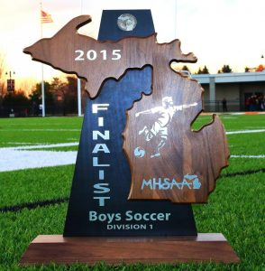Boys Varsity Soccer  Division 1 Championship Game 2015  (Photos @ MPVasilnek)