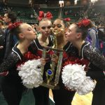 Canton Varsity Pompon receives State Runner-Up Title