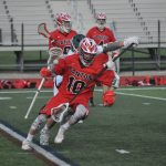 Canton High School Boys Varsity Lacrosse beat Novi High School 13-12