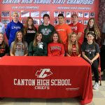 National Signing Day – Canton High School – Feb 7, 2018