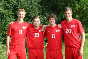 Boys Varsity Soccer Captains