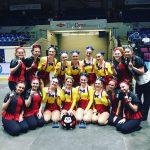 Canton JV & Varsity High Kick Champs