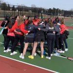 CHS girls tennis season opener