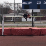 Men's Track Jumpers Dominate the Patriot Relays