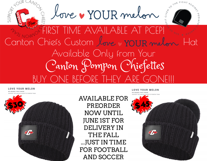 SUPPORT CANTON CHIEFETTES POM – FUNDRAISER