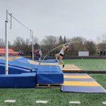 Shale breaks school pole vault record