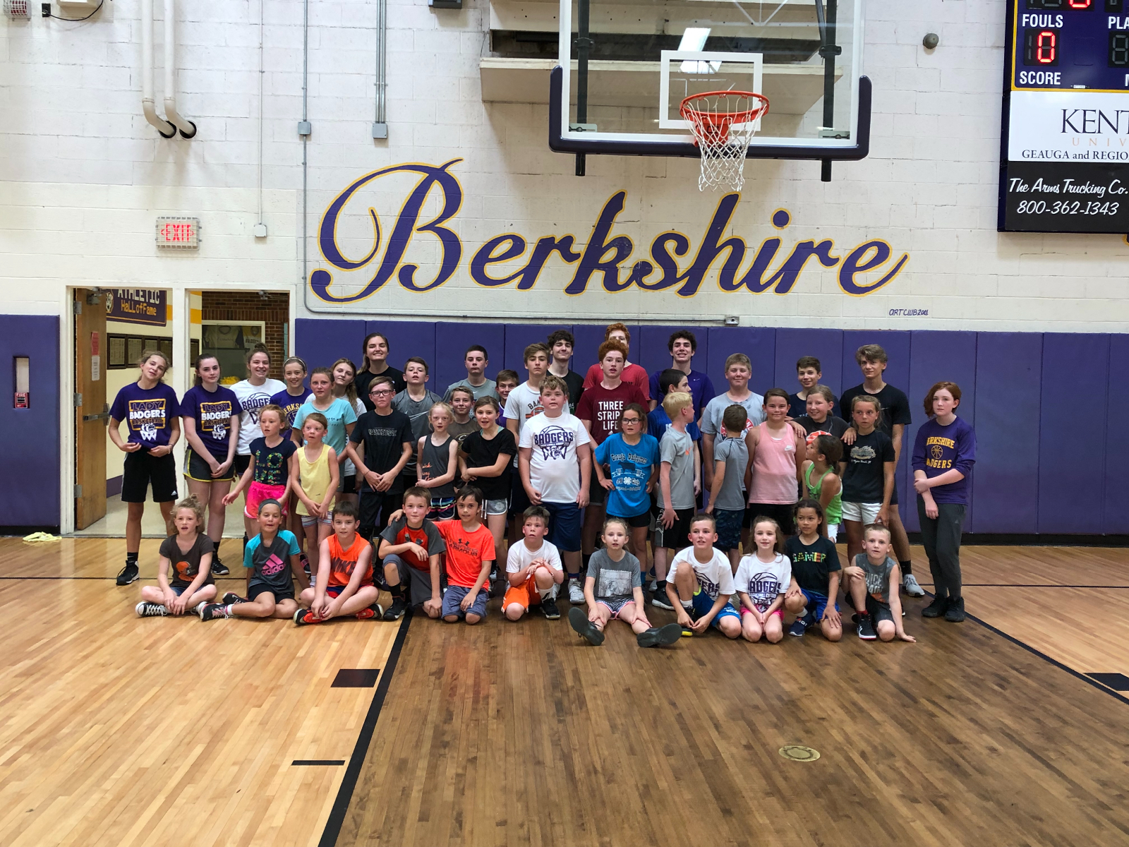Lady Badgers Basketball Youth Camp