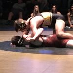 Wasatch High School Boys Varsity Wrestling beat Maple Mountain High School 51-18