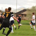 Wasatch High School Boys Junior Varsity Soccer beat Uintah High School 2-0