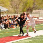 Wasatch High School Boys Junior Varsity Soccer beat Maple Mountain High School 2-0