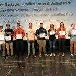Senior 3 Sport Athletes Honored