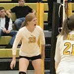 Wasatch High School Girls Varsity Volleyball falls to Park City High School 2-1