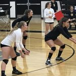 Wasp Volleyball Loses Tough Home Opener