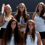 Girls Tennis Dominates Skyridge