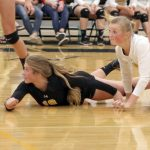 Wasatch High School Girls Varsity Volleyball beat Provo High School 3-0