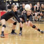 Wasatch High School Girls Varsity Volleyball falls to Springville High School 3-0