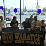 Storie OBrien signs with the College of Idaho